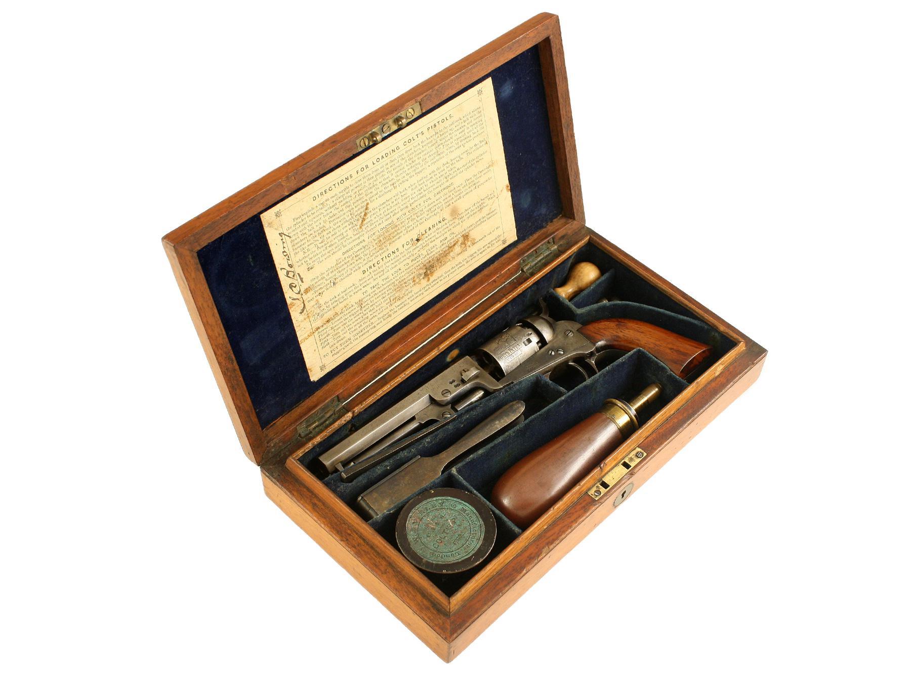 A Cased Pocket Colt