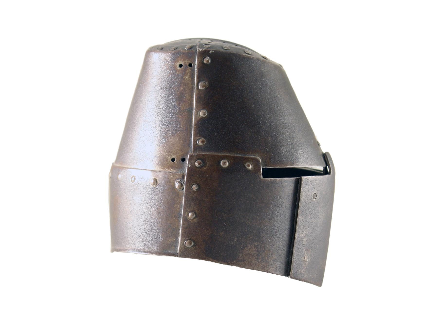 A Miniature Helm, 19th Century.
