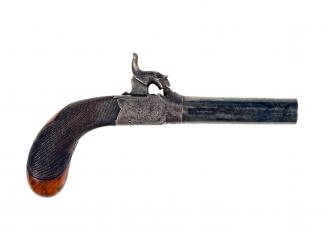 An Unusual Rifled Percussion Pistol