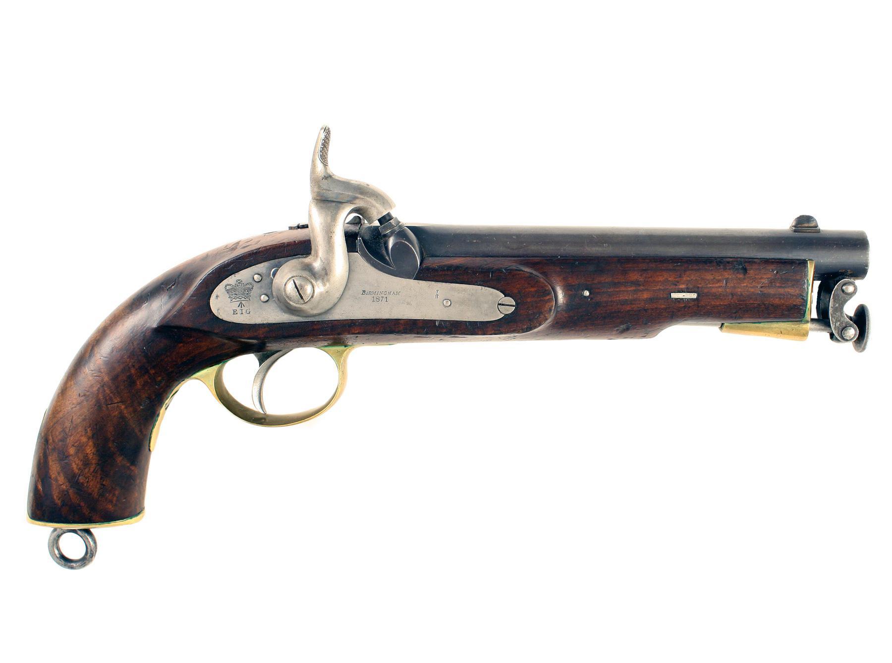 An E.I.G. Pistol