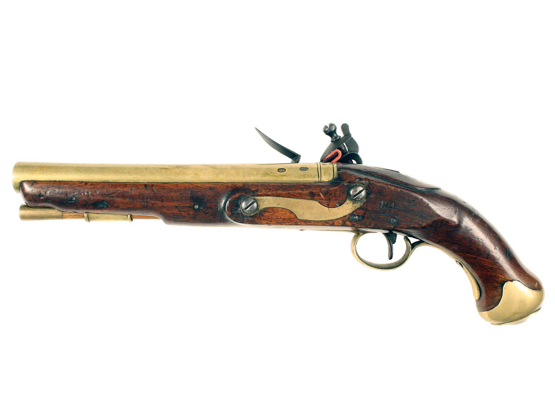 A Rare Packet Ship Pistol
