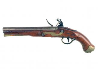 A Flintlock Light Dragoon, Circa 1800.