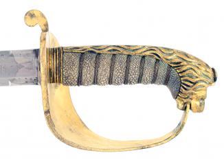 An Unusual Pattern 1827 Naval Officers Sword