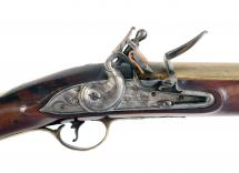 A Flintlock Blunderbuss by Hadley of London