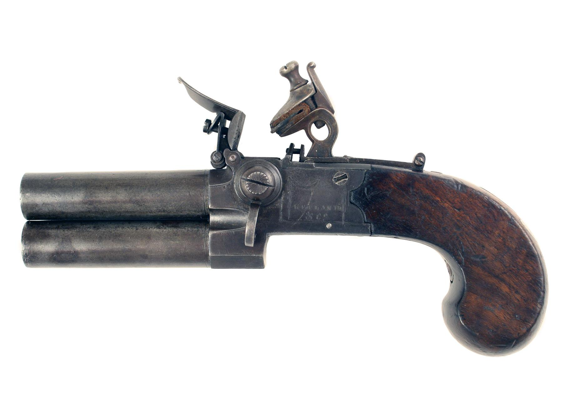 A Regimentally Marked Pocket Pistol