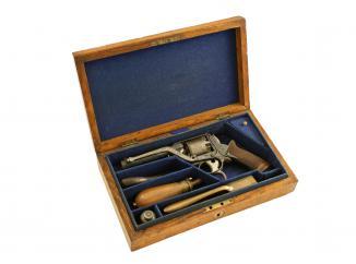 A Cased 80-Bore Double Trigger Tranter