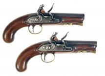A Rare Pair of Mail Coach Inspectors Pistols