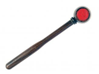 A Mallet for a Cased Pair of Pistols