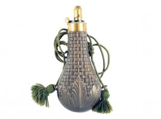 A Powder Flask by Dixon & Sons