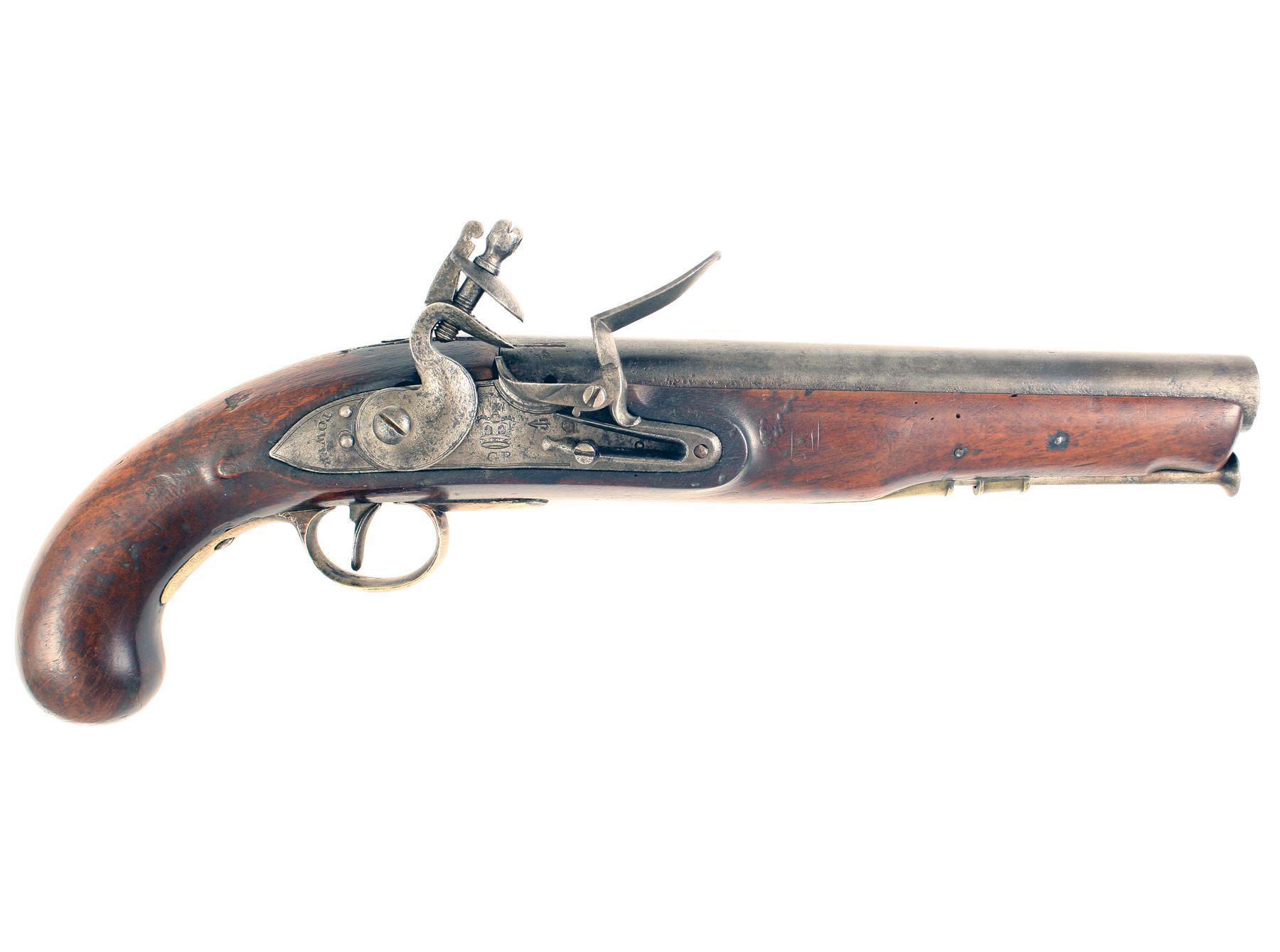 A Regimentally Marked Heavy Dragoon Pistol