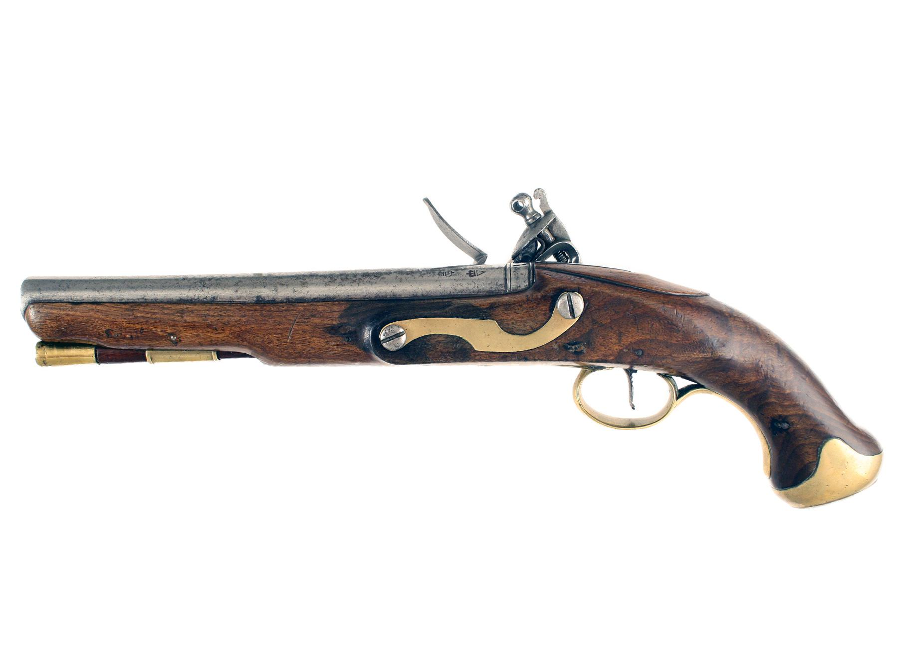 A D.Egg Flintlock Light Dragoon Pistol