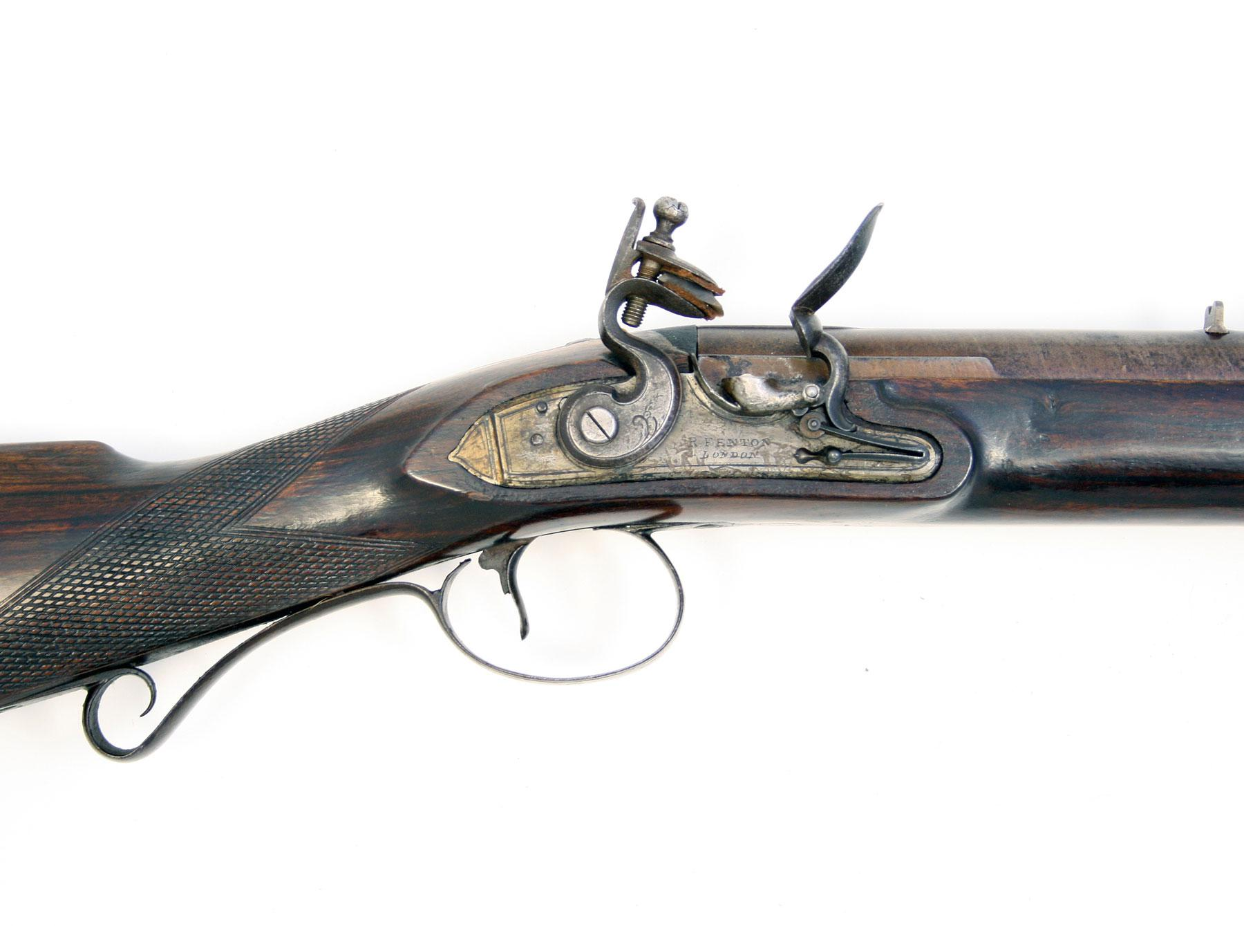A Flintlock Sporting Gun