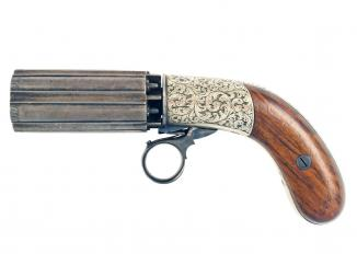 A Crisp Pepperbox by Reilly of London
