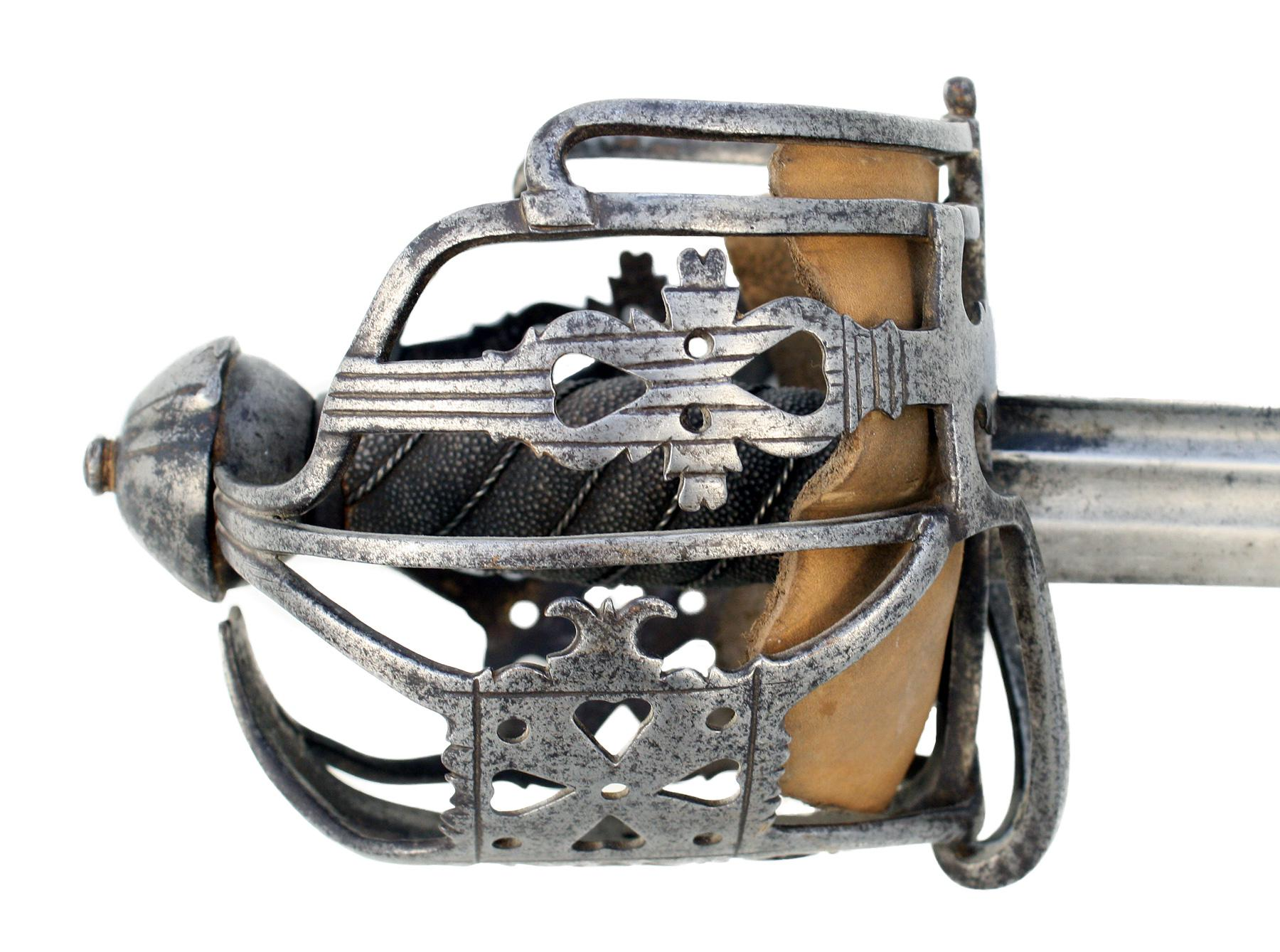 An Early Basket Hilted Sword