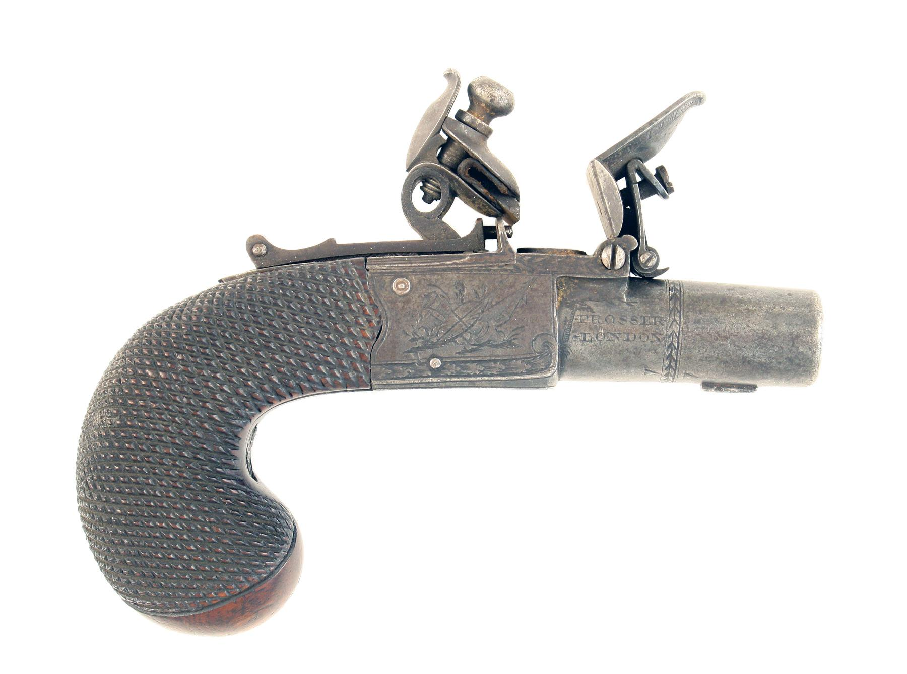An Unusual Pocket Pistol by Prosser