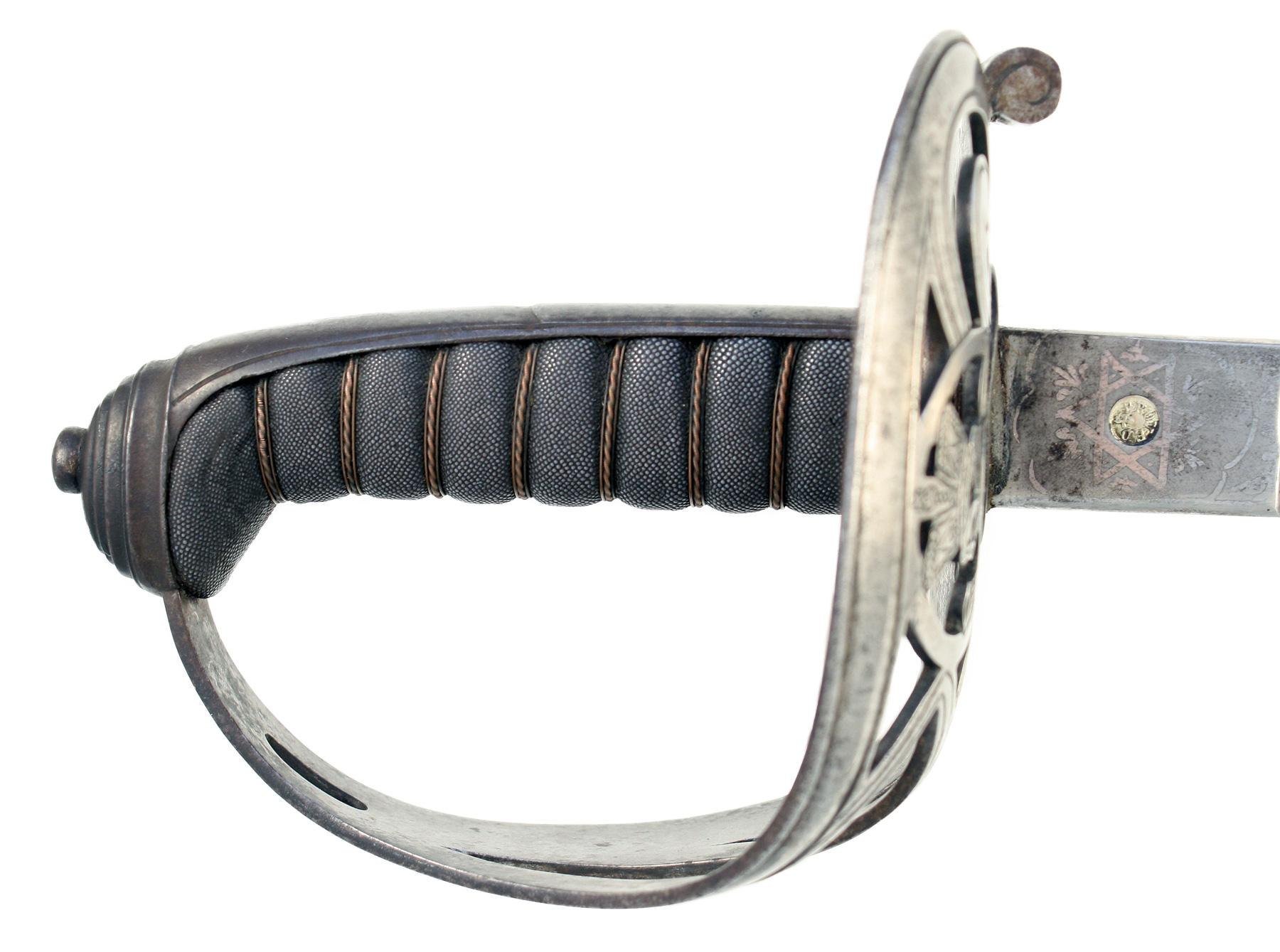 A Rifle Regiment Sword