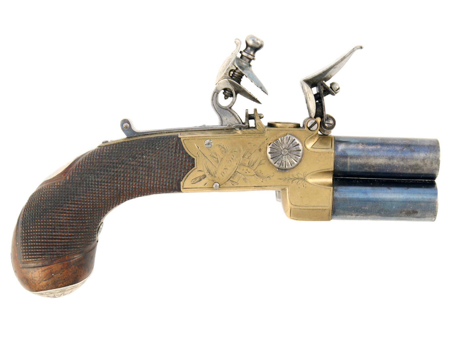 A Fine Tap Action Pistol
