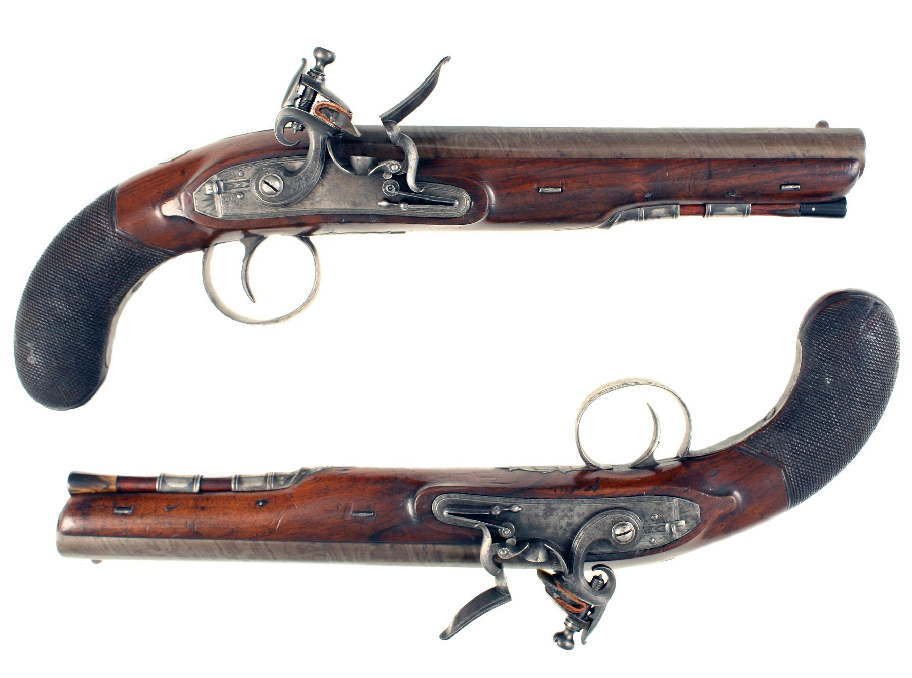 A Pair of Officers Pistols