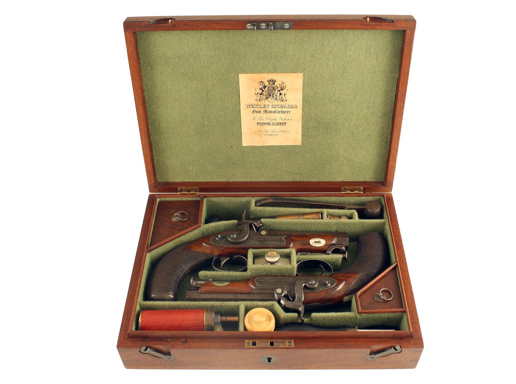 A Cased Pair of Belt Pistols
