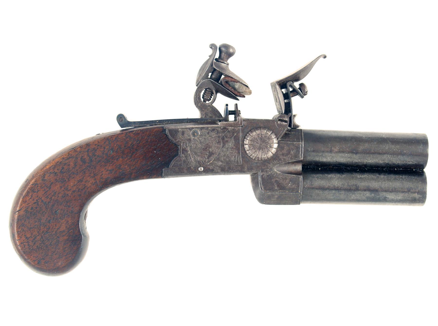A Sleepy Tap-Action Pistol
