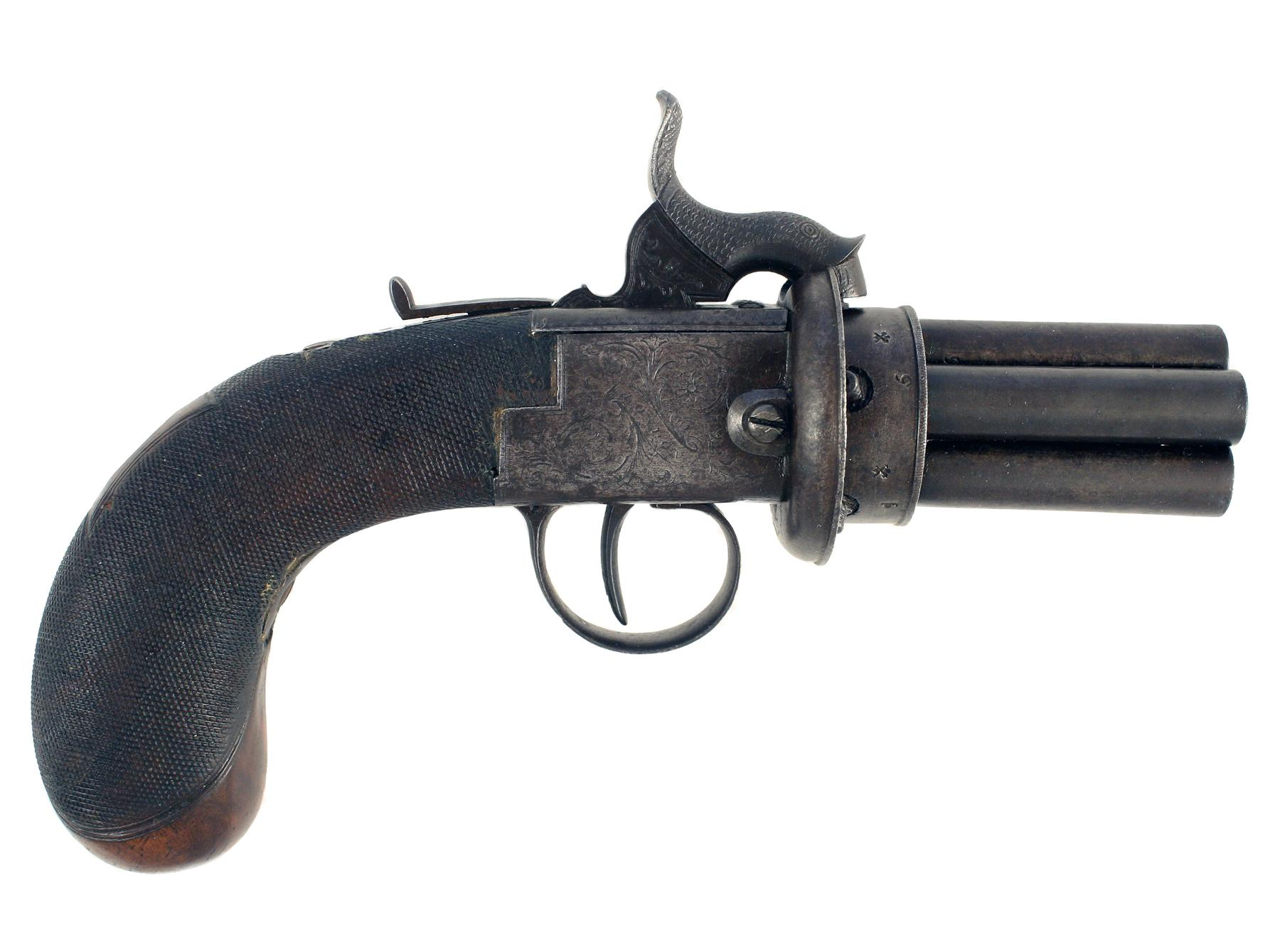 An Early Pepperbox