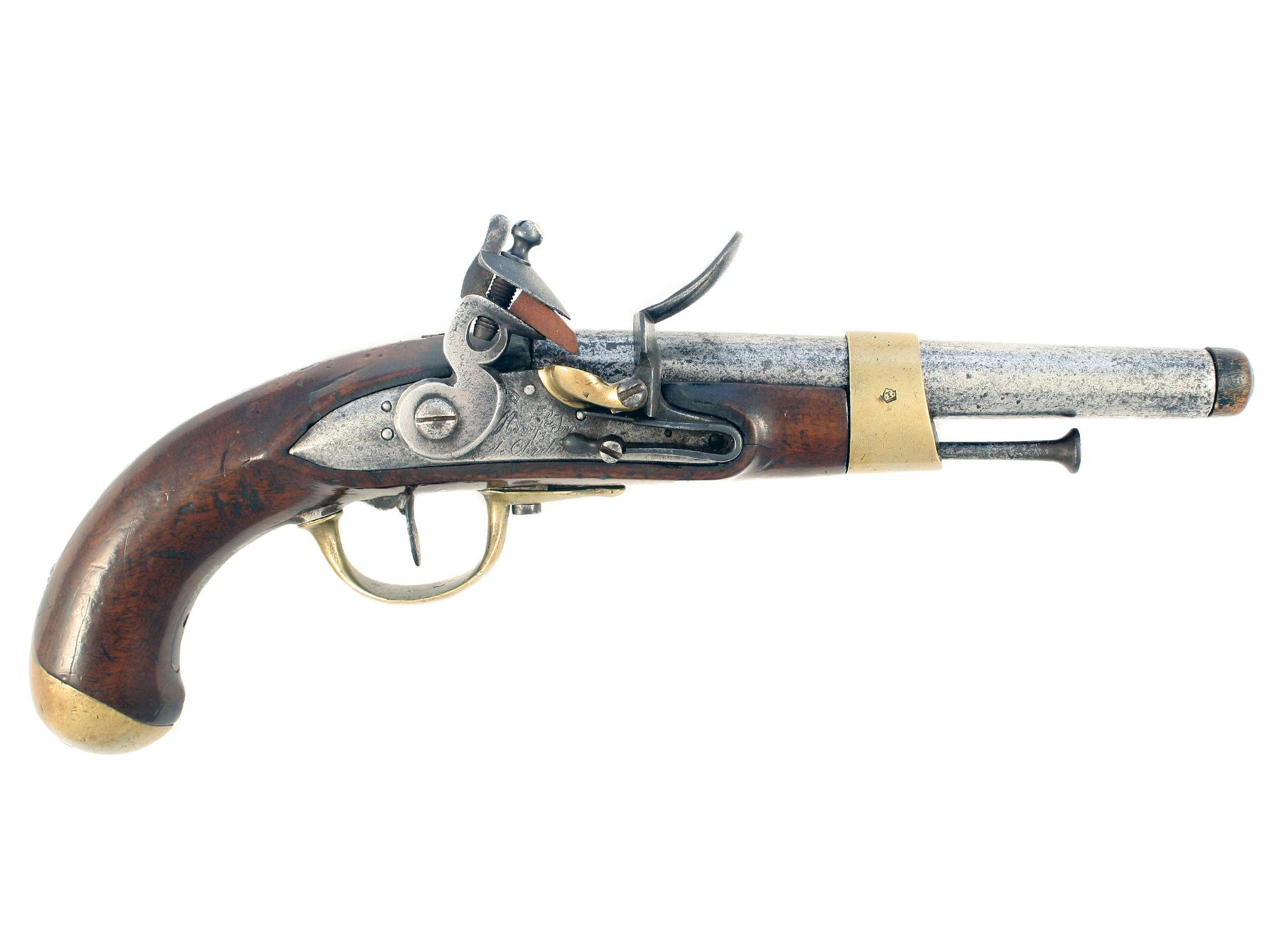A French AN 13 Pistol