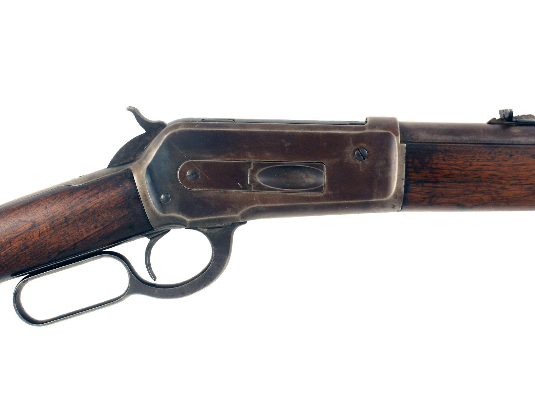 A Winchester 1886 Rifle