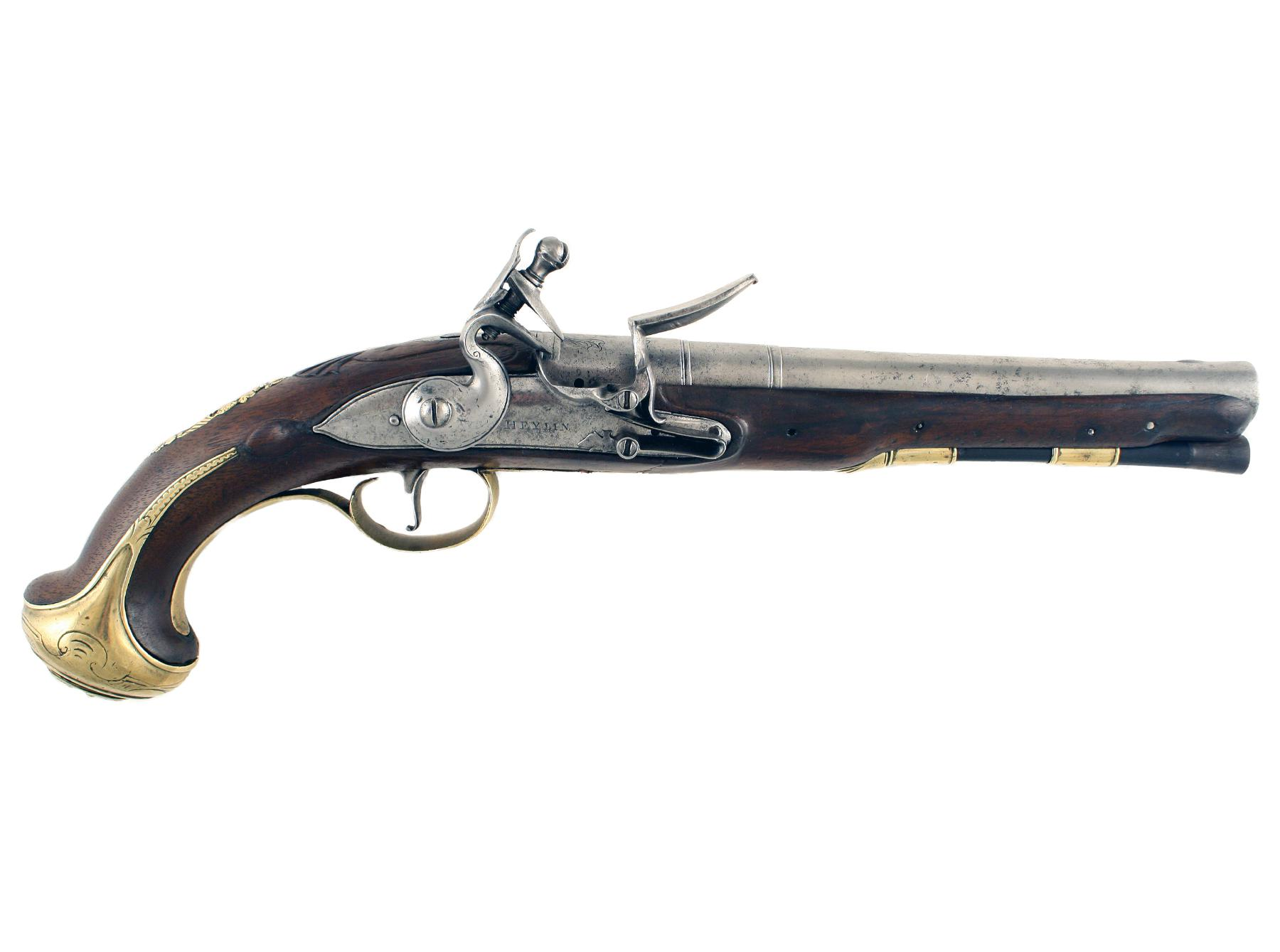 A Flintlock Holster Pistol