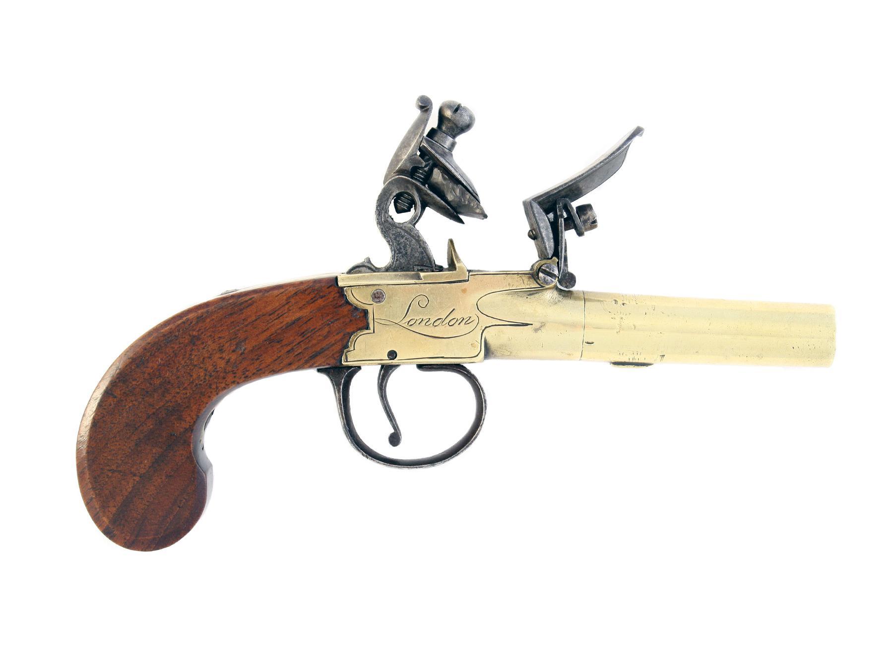 A Flintlock Pocket Pistol