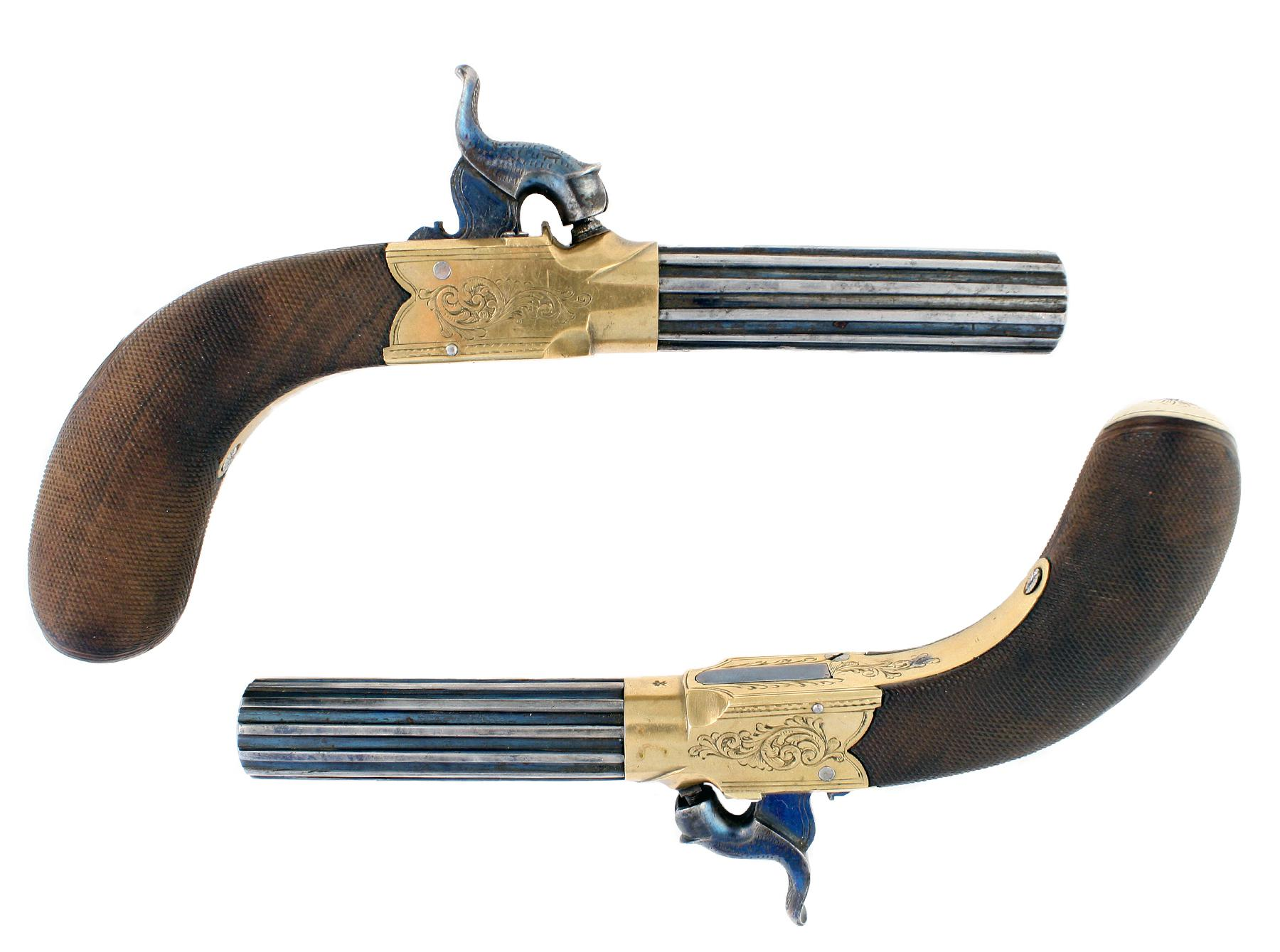 A Mint Pair of Pistols