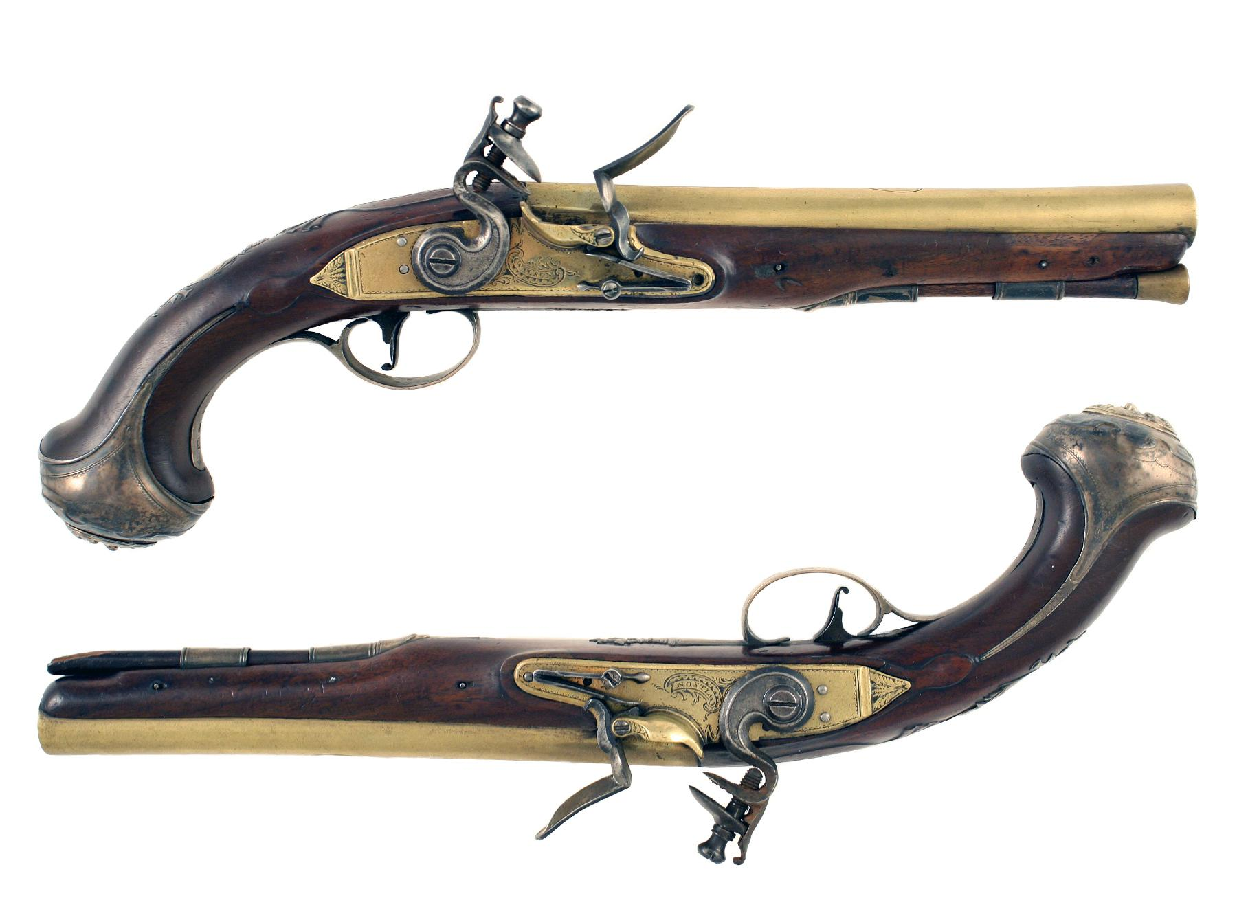 An Untouched Pair of Pistols