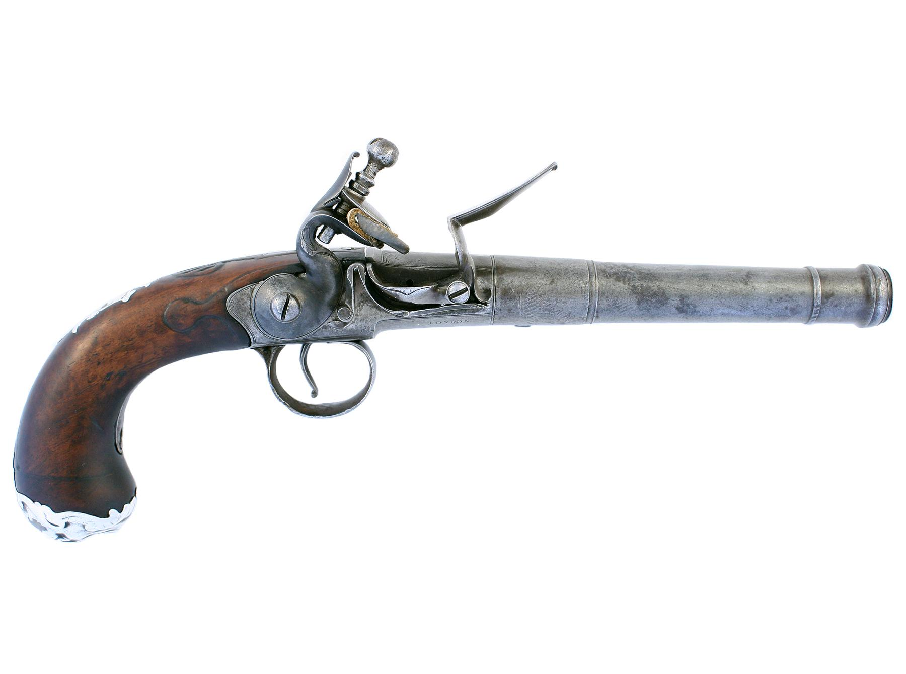 A Queen Anne Pistol