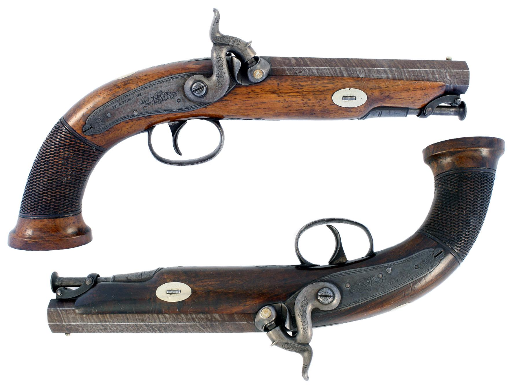 A Superb Pair of Pistols