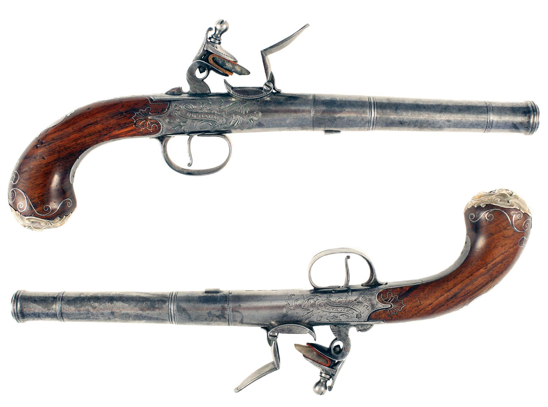 A Superb Pair of Early Pistols