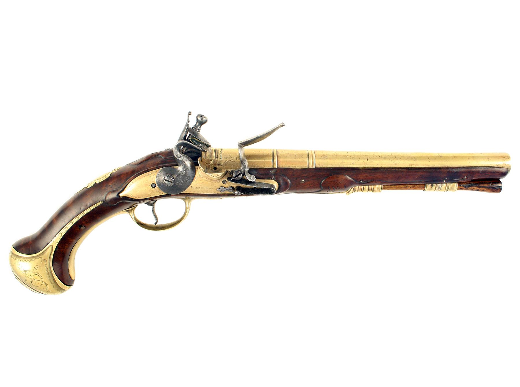 An Early Flintlock Pistol