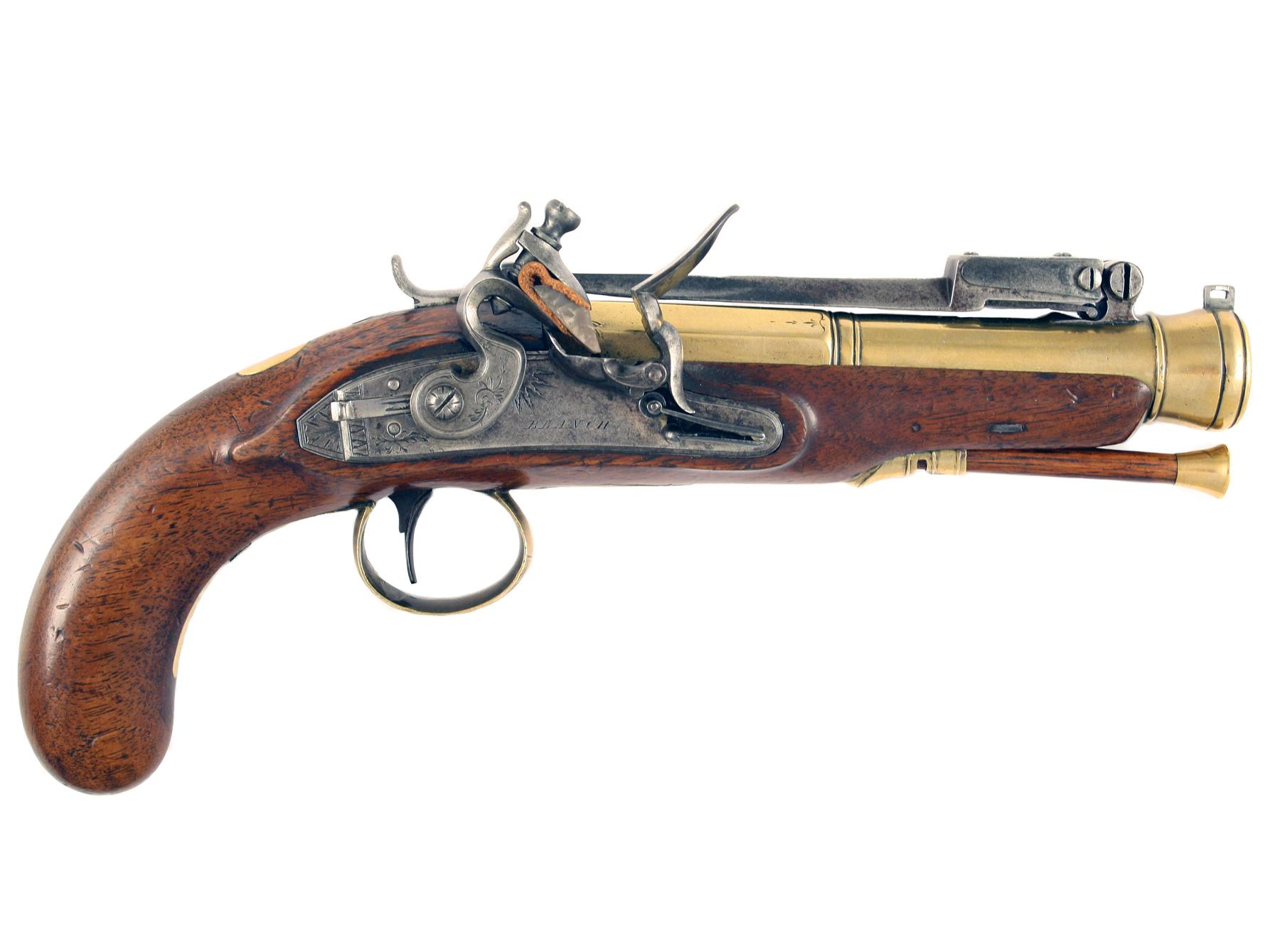 A Superb Blunderbuss Pistol