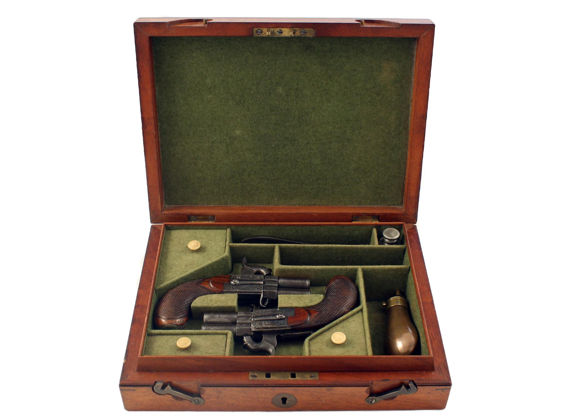 A Cased Pair of Pistols