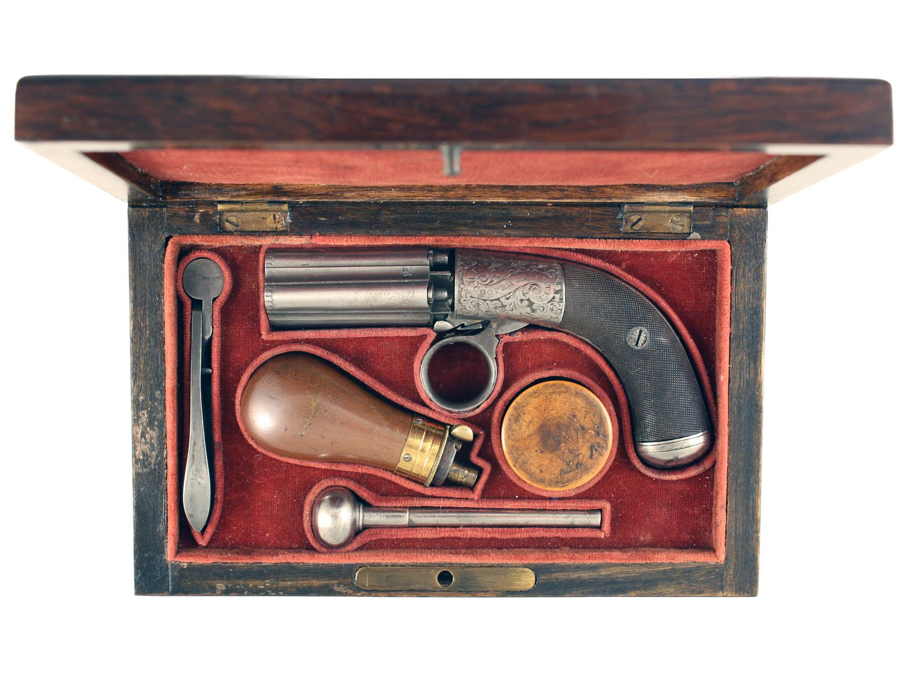 A Small Pepperbox Revolver