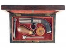 A Small Pepperbox Revolver