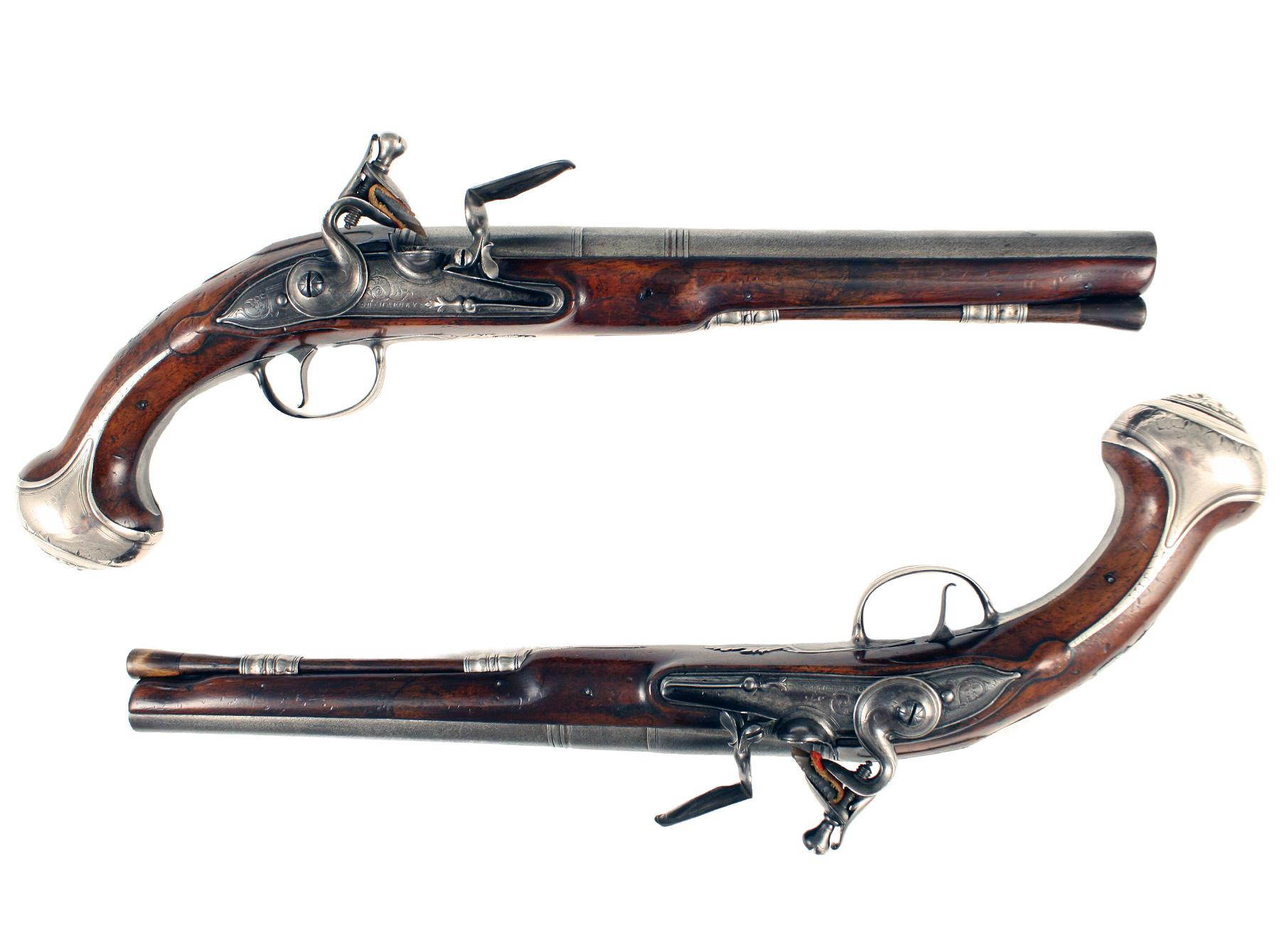 A Pair of Early Holster Pistols