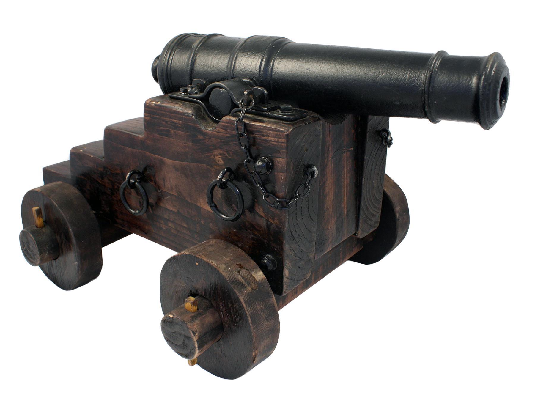 A Iron Signal Cannon
