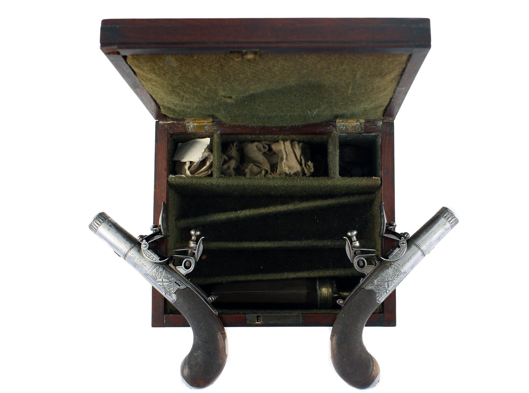 A Cased Pair of Pocket Pistols