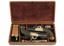 A Cased Pair of Pistols