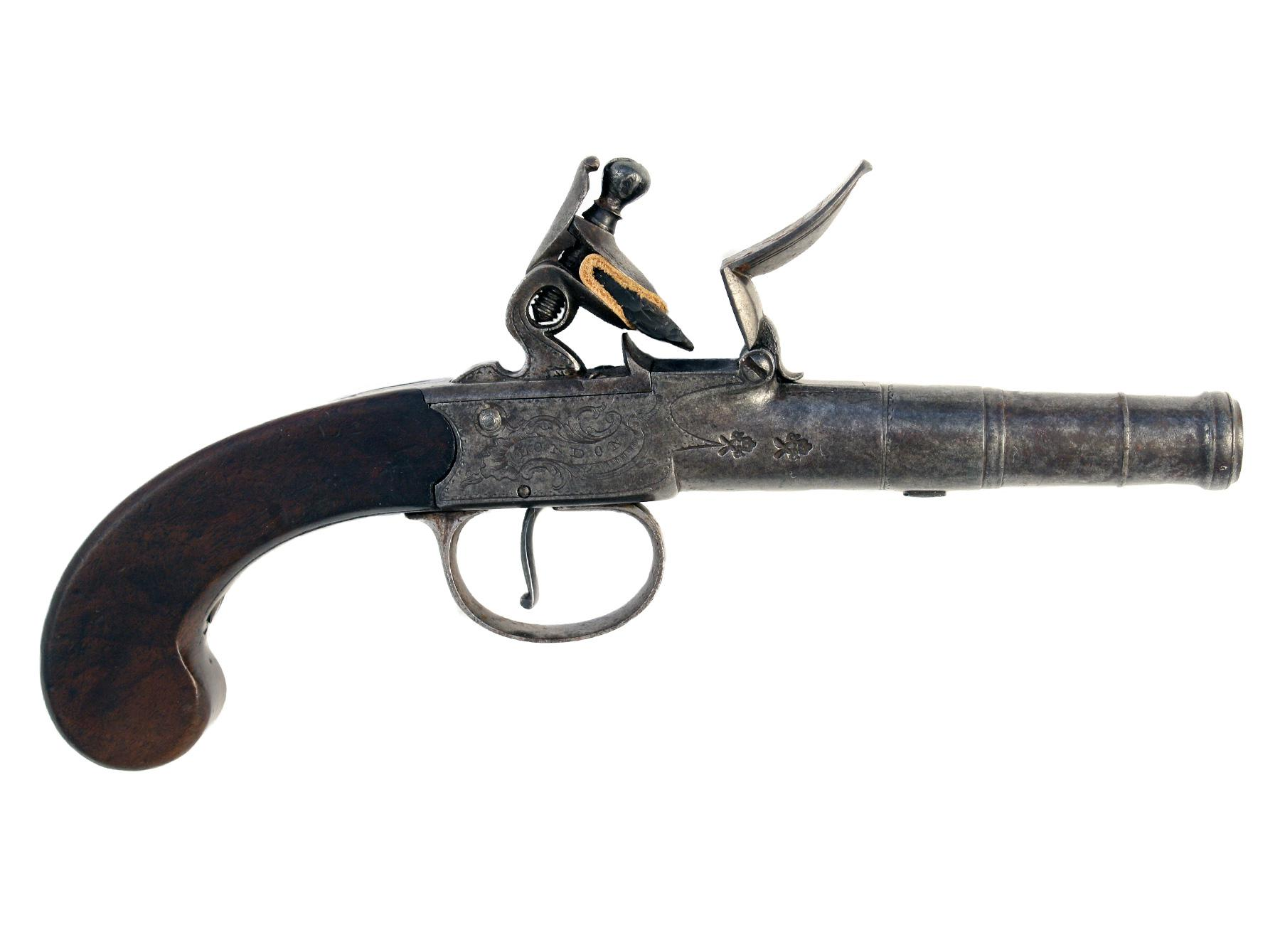 A Cannon Barrelled Pistol