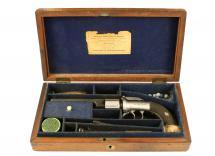 A Cased Transitional Revolver