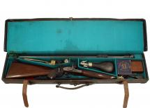 A Cased Rigby Match Rifle