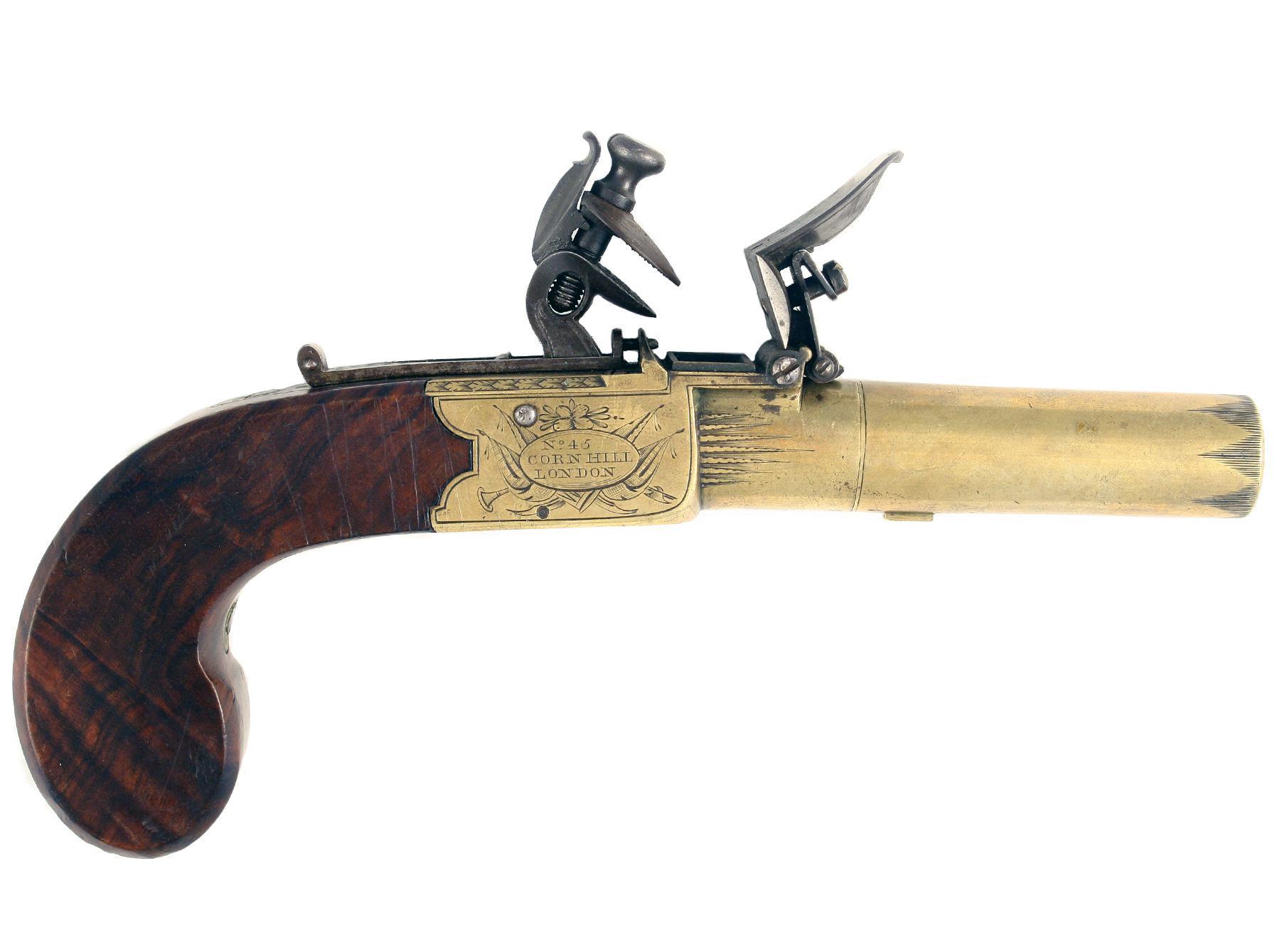 A Large Box-Lock Pistol