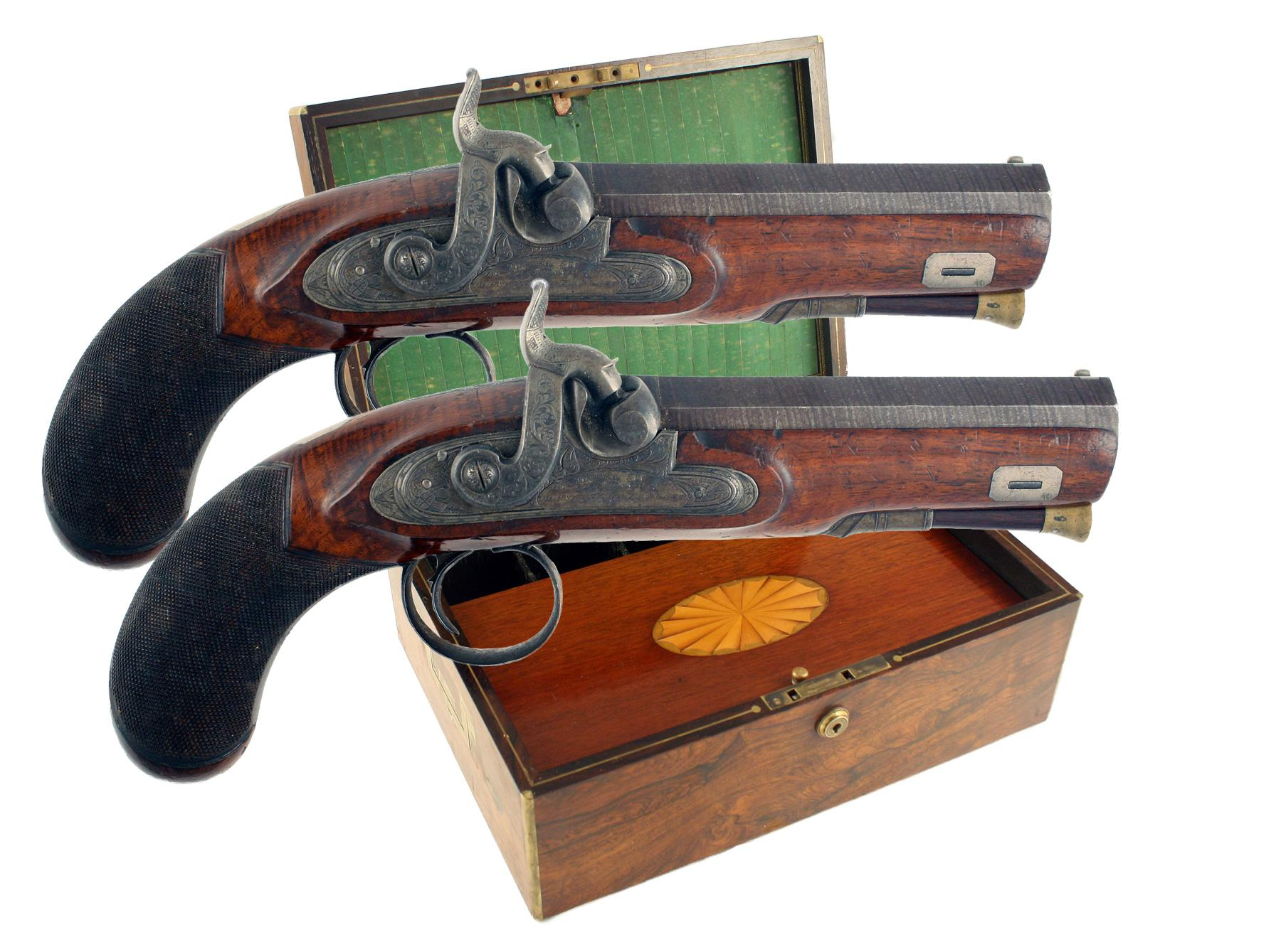 An Important Pair of Pistols