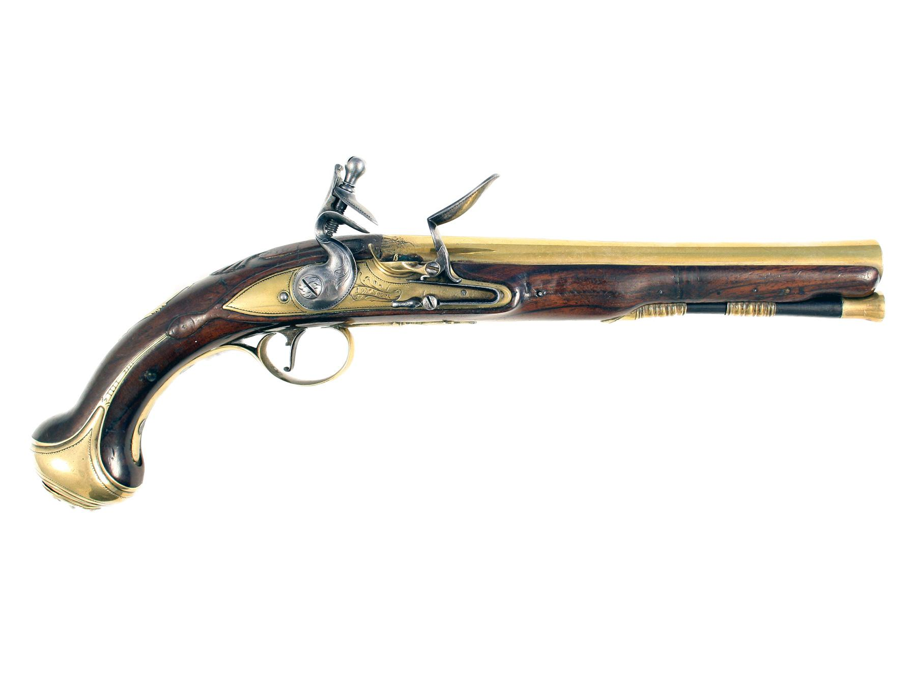 A Fine Early Holster Pistol