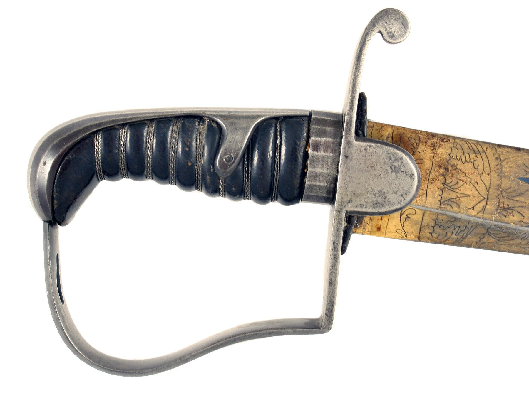 A Blue & Gilt 1796 Sword